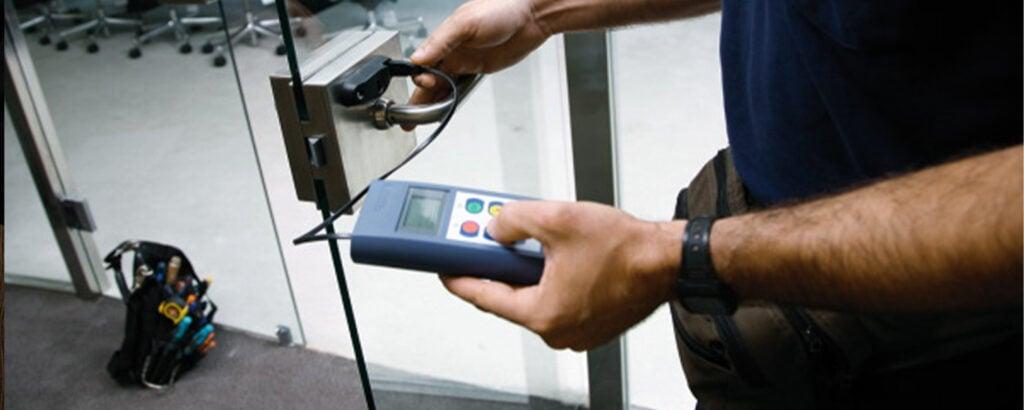 Access control installation 1500x600