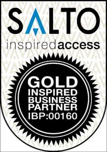 SALTO partner gold inspired business partner