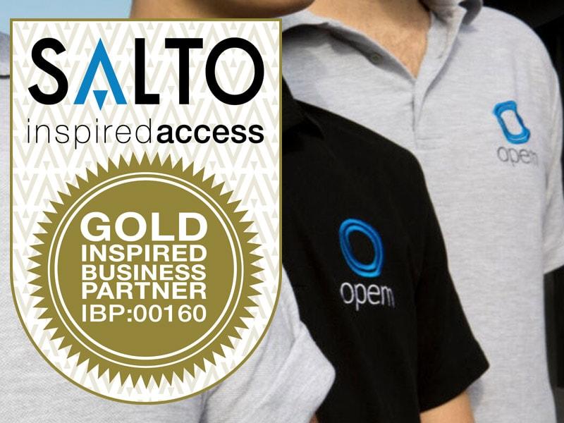 Salto partner with Opem LTD